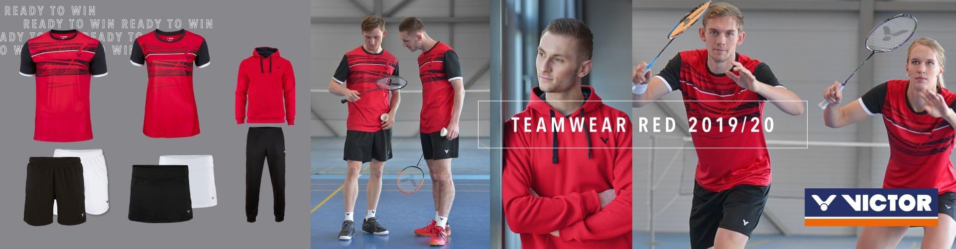 Victor Teamline Red 2019-2021